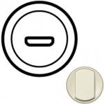 Лицевая панель для розетки HDMI слоновая кость Celiane