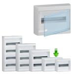 Щит накладной Nedbox 12+1М прозрачная дверь Legrand.