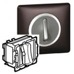 Выключатель бесшумный без фиксации с НО/НЗ контактом 6А