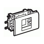 Суппорт Mosaic 2 модуля для к/к DLP с крышкой 65мм