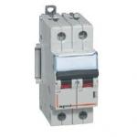 Автоматический выключатель двухполюсный 16А тип D DX³ 6000-10кА