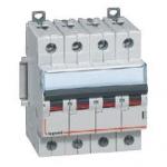 Автоматический выключатель четырехполюсный 63А Тип С DX³ 10000-16кА