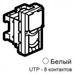 Розетка Rj45 UTP 5е 1М Mosaic